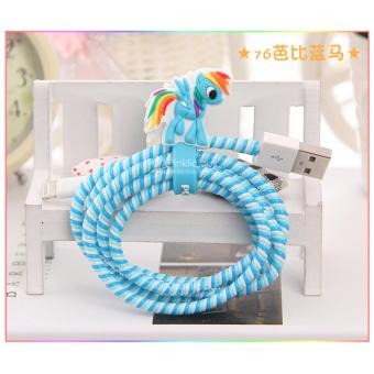 Harga Little Pony Blue Cable Protector with Cord Winder