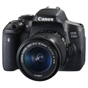 Harga CANON EOS 750D Kit + CANON EFS 18-55mm f3.5-5.6 IS STM Lens Kit