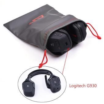 """Lightning Power – Pack of 3 Universal Water Proof Headphone Protection Pouch Bag 11 x 9.25"""" in Metallic Gray Color(Gray) - intl - 4"""
