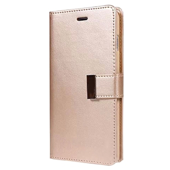 New Wallet Flip PU Leather Phone Case Cover For Apple iPhone 6 / 6s Gold