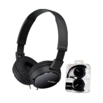 Harga Sony MDR-ZX110 Stereo Headset (Black)