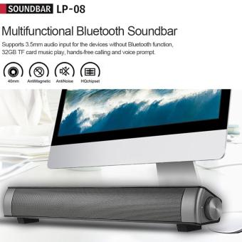 Bluetooth Sound Bar Bluetooth Speakers Home Theater Super Bass Subwoofer Hands-free Support AUX IN