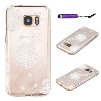 Harga Moonmini Soft TPU Phone Back Case Cover for Samsung Galaxy S7 (Clear)