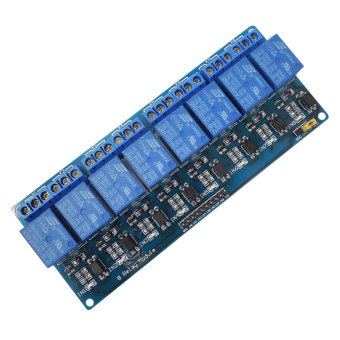 Harga 8-Channel 5V Relay Shield Module for Arduino UNO 2560 1280 ARM PIC AVR STM - intl