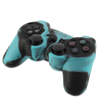Harga Soft Silicone Skin Case Cover For PS2 PS3 Controller Protect Shell