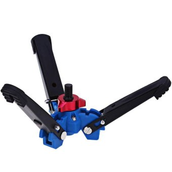 Universal Three Feet Support Stand Holder for 3/8 inch Monopod Compatibility Benro Monopods (Blue) - intl - 4