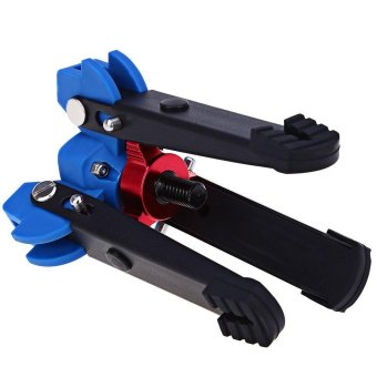 Universal Three Feet Support Stand Holder for 3/8 inch Monopod Compatibility Benro Monopods (Blue) - intl - 5