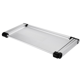 OMAX A6L Adjustable Height Laptop Desk Notebook Table with Vented Stand (Silver) - intl - 5