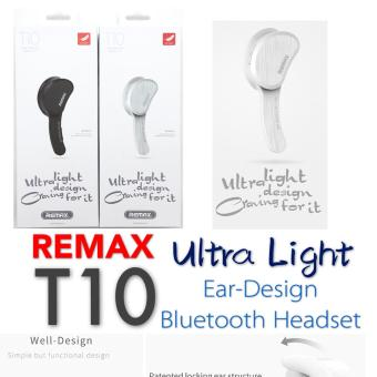 Harga Remax RB-T10 T10 Bluethtooth Headset (White)