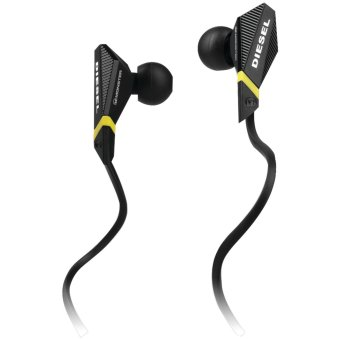 Harga Monster Cable Diesel In-Ear Headphone with Control Talk (Black) - Intl - intl
