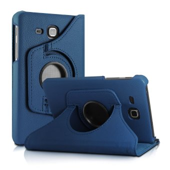 Samsung Galaxy Tab A 7.0 Case, 360 Degrees Rotating Stand Case Cover for 2016 Release Samsung Galaxy Tab A 7.0 7-Inch Tablet (SM-T280 / SM-T285) Only, Navy(Export)