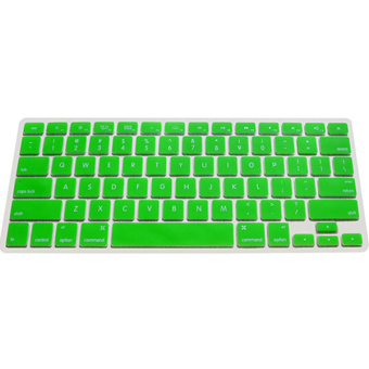 Harga Silicone Keyboard Cover Skin for Apple Macbook Pro MAC 13 15 17 Air 13 (Green)