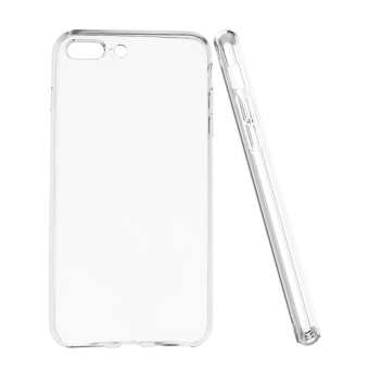 Harga 0.5mm Ultra Slim Flexible Clear TPU Case Cover Skin for Apple iPhone 7 Plus 5.5 inch