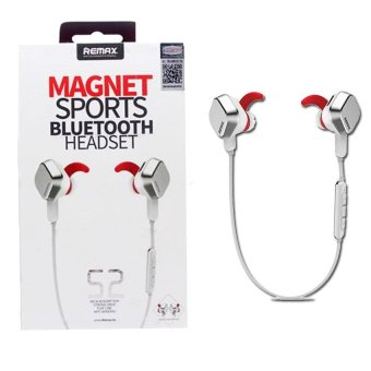 Harga REMAX S2 Bluetooth Magnet Sports Headset (White)