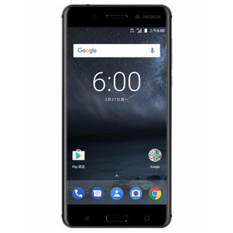 Harga Nokia 6 Global Version (4GB, 64GB) - Black