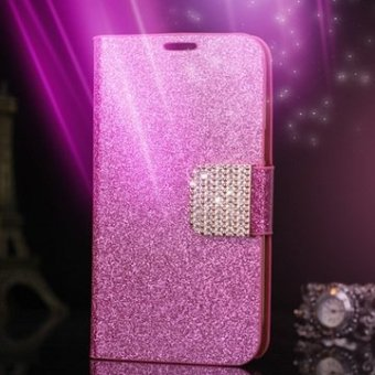 Harga Glitter diamond holster leather case for samsung Note3 n9000 S3 I9300 S4 i9500 holster