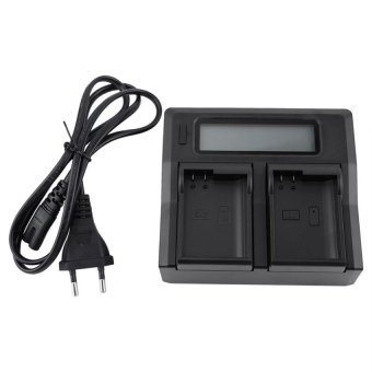 Harga Camera Dual Charger For Nikon EN-EL 15 Series EU Plug - intl