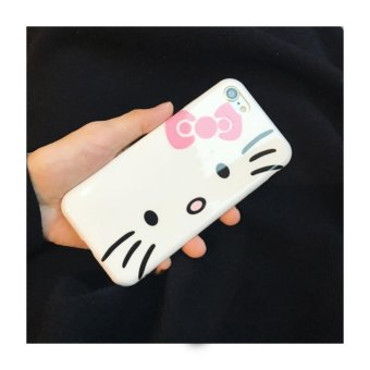 Harga Cute Cartoon Kaidi Cat Design Silicone Case for Apple Iphone7Plus (5.5 inch) - intl