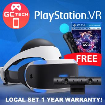 Harga Playstation VR with Camera CUH-ZVR1(Black)