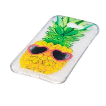 Pineapple TPU Soft Gasbag Back Case Cover For Samsung Galaxy A3 2017 Case - intl - 2