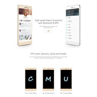 Original BLUBOO Maya 5.5 inch HD 3G Smartphone Android 6.0 2GB+16GB 8.0MP+13.0MP Gold - 5