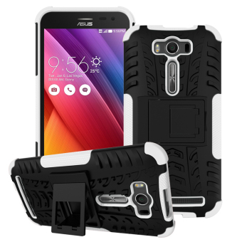 Harga Moonmini TPU + PC Case whith Kickstand Cover for ASUS ZenFone 2 Laser ZE550KL 5.5 inch (White) - intl