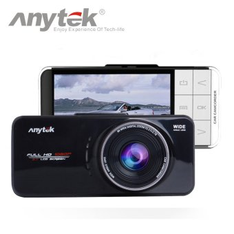 Harga Anytek Official AT66A Car Camera Novatek 96650 Car DVR(Black)