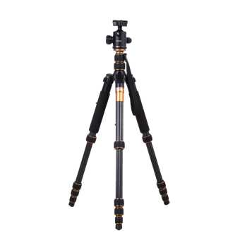 Harga Andoer Pro Carbon Fiber Tripod for SLR Camera Ball Head Monopod Changeable Portable Traveling