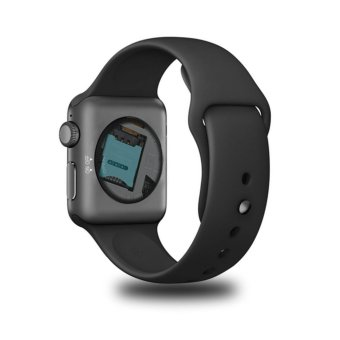 2017 Newest DM09 bluetooth Smart Watch HD Screen Support SIM Card Wearable Devices SmartWatch For apple Android pk dz09 watch - intl - 2
