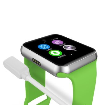 2017 Newest DM09 bluetooth Smart Watch HD Screen Support SIM Card Wearable Devices SmartWatch For apple Android pk dz09 watch - intl - 5
