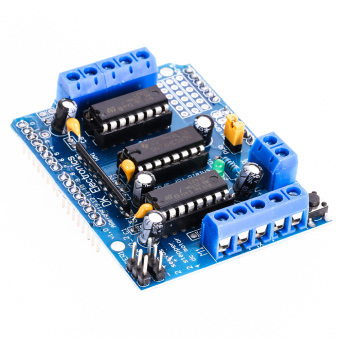 Harga Motor Drive Expansion Shield Module L293D For Arduino Duemilanove Mega UNO (EXPORT)