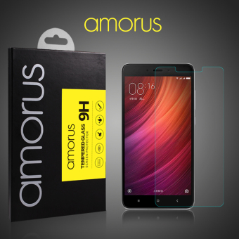 Harga AMORUS Tempered Glass Screen Protector Film for Xiaomi Redmi Note 4 - intl