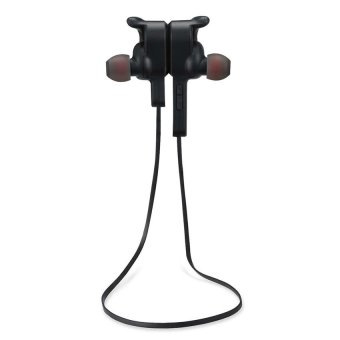 The Great Quality Bluetooth Earphone Wireless Sports Earphones Earbuds Bluetooth Headphones 4.1 In-ear Earbuds Bass with Mic for Running& Sports Headphones for iOS and Android Cellphone (black) - intl - 2
