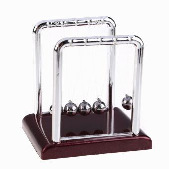 Harga Newton's Cradle Fun Balance Balls Desk Science Education Desk Deck Toy Gift
