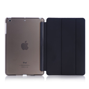Harga Welink Ultra Slim Smart Cover PU Leather Case for Apple iPad Mini 4 (Black) - intl