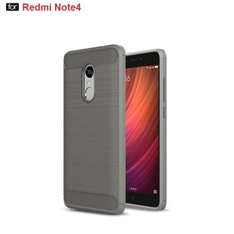 BYT Carbon Rugged Armor Cover Case for Xiaomi Redmi Note 4 - intl .