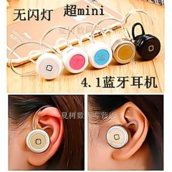 Smallest Universal Wireless Stereo Bluetooth V4.1 Earpiece for ALL TYPES of Smartphones/Tablets (Black) - 4