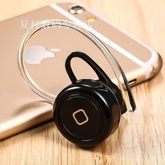 Smallest Universal Wireless Stereo Bluetooth V4.1 Earpiece for ALL TYPES of Smartphones/Tablets (Black) - 2