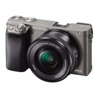 Harga Sony Alpha a6000 Mirrorless Digital Camera with 16-50mm Lens (Graphite) Warranty