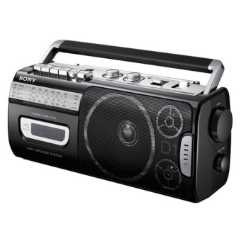 Harga Sony Compact Portable Radio Cassette CFM-D1MK3 Black (Export)