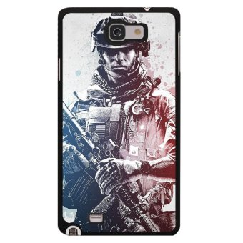 Harga Y&M Cell Phone Case For Samsung Galaxy Note 2 Super Soldier Pattern Cover (Multicolor)