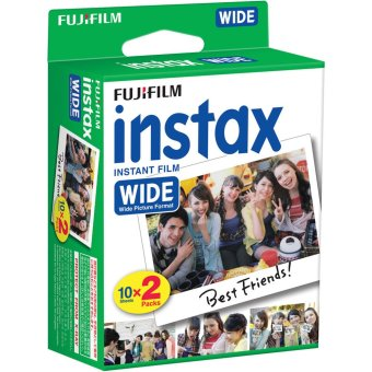 Harga Fuji Instax Wide Twin Film x 4 Twin Packs (8 Single Packs)