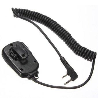 Handheld 2-way Speaker Mic Radio Microphone for BaoFeng UV-5R/5RA/5RB 666S 888S (EXPORT) - Intl - 2