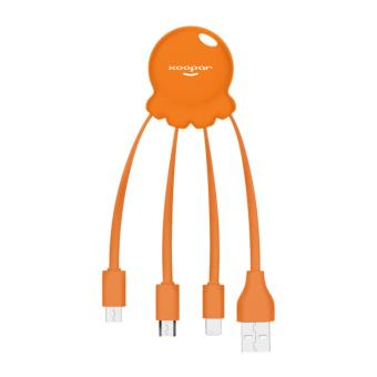 Harga XOOPAR Octopus Multi-cable USB (Orange)