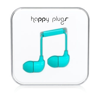 Harga Happy Plugs In-Ear Turquiose