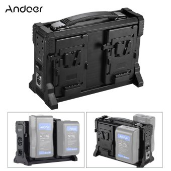 Harga Andoer AD-4KS 4-Channel Camcorder Charger for V-Mount for DSLR Video Camera - intl