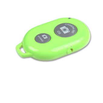 Harga Bluetooth Camera Shutter Release for iPhone and Android (Green)