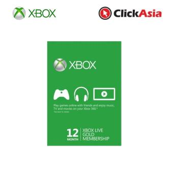 Harga Xbox Live 12 Month Subscription (52M-00325)
