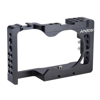 Harga Andoer Aluminum Alloy Camera Cage for Sony A6500 ILDC Camera Outdoorfree - intl