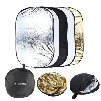 Harga Andoer 5 in 1 Multi Portable Collapsible Reflector (EXPORT)